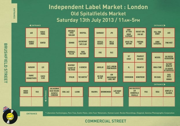 Label Market London